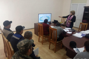 The specialists of Mubarek CHP JSC were trained on the course